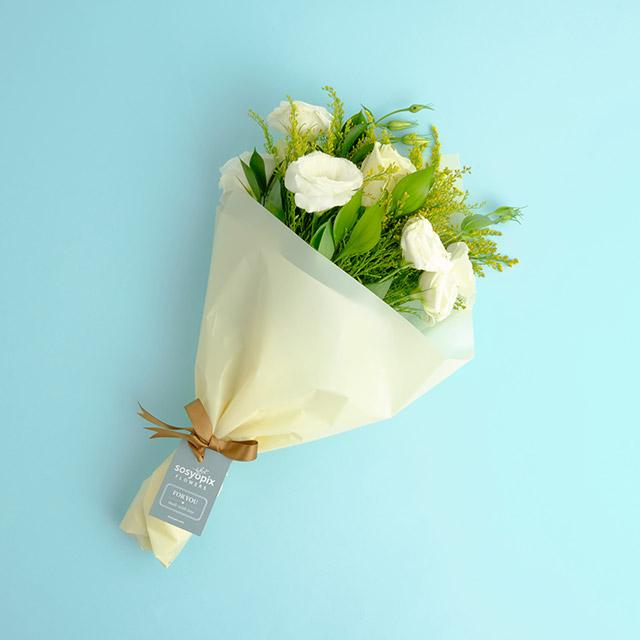 Delicate White Flower Bouquet