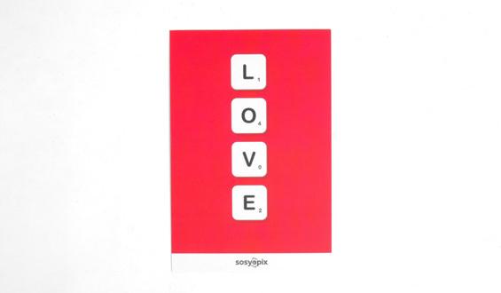 Love Motto Card