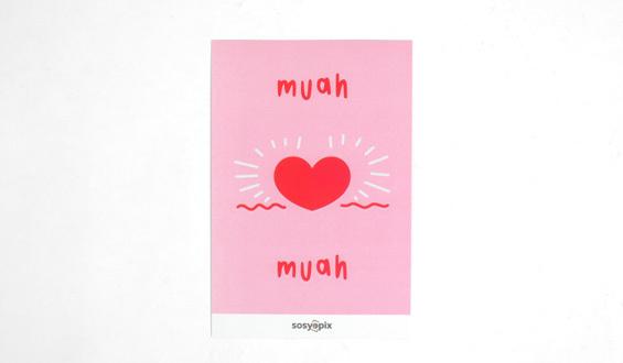 Full of Love Motto Card