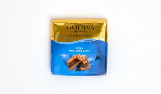 Godiva Kare Sütlü Çikolata