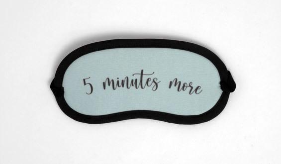 5 Minutes More Uyku Göz Bandı